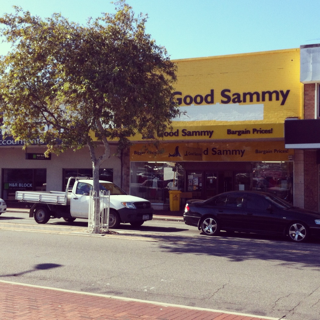 That's Alright Mama - Good Sammy's East Victoria Park Op Shop Review