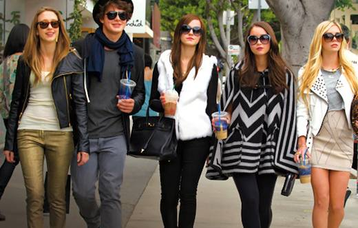 Emma Watson (au centre) dans The Bling Ring, de Sofia Coppola (2013)
