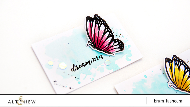 Altenew Dream Big Stamp Set | Erum Tasneem | @pr0digy0