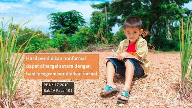 pendidikan nonformal diakui di indonesia
