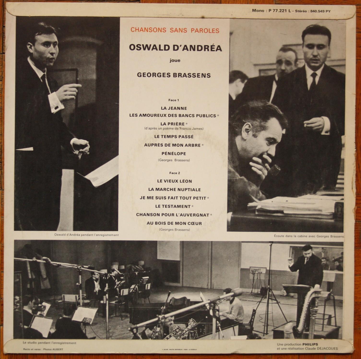 Georges Brassens Par Les Routes Du Printemps Chansons Sans