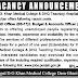 The DHQ Teaching Hospital D.G.Khan Jobs