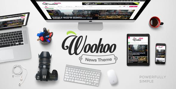 [Cho tải Free] - Woohoo - Modish News, Magazine and Blog Theme