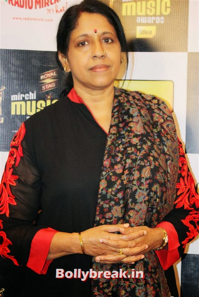 Kavita Krishnamurthy, Mirchi Music Awards Jury Meet