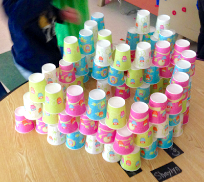 Creativity and Teamwork with Cup Stacking