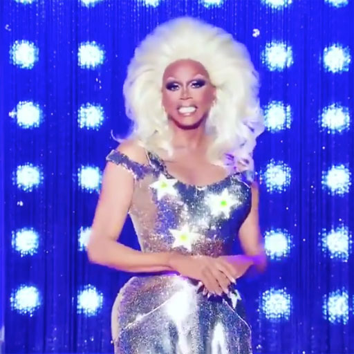 In a new video, RuPaul encourages fans to make sure they register to vote and then show up to vote on November 6.