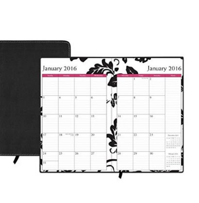 opened monthly planner