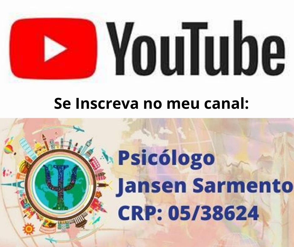 INSCREVA-SE NO MEU CANAL DO YOUTUBE: