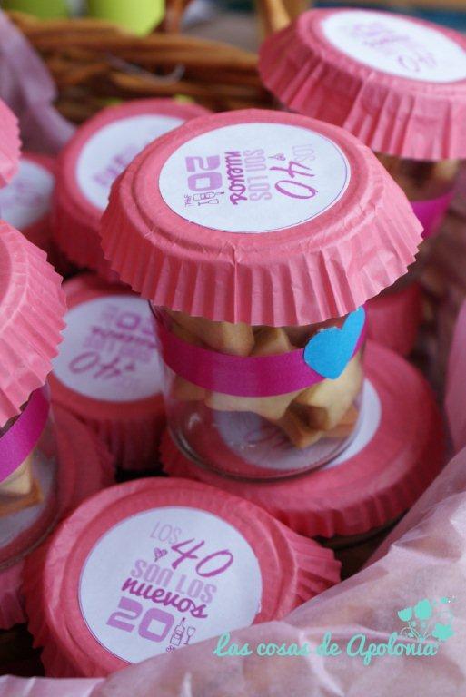 Detalles y dulces para una fiesta de los 40 - Ideas para fiesta 40 cumpleanos ...