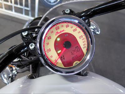2016 Indian Scout Sixty Cruiser Motorcycle speed metor image
