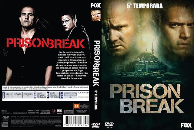 Capa DVD Prison Break Quinta Temporada