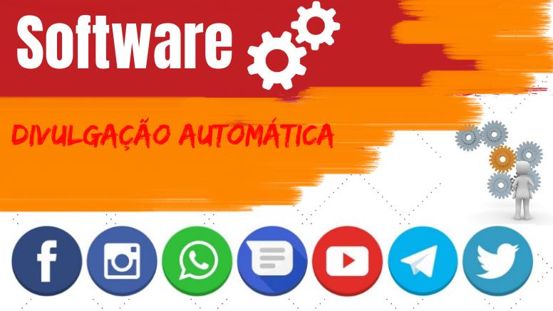 software divulgação automática facebook