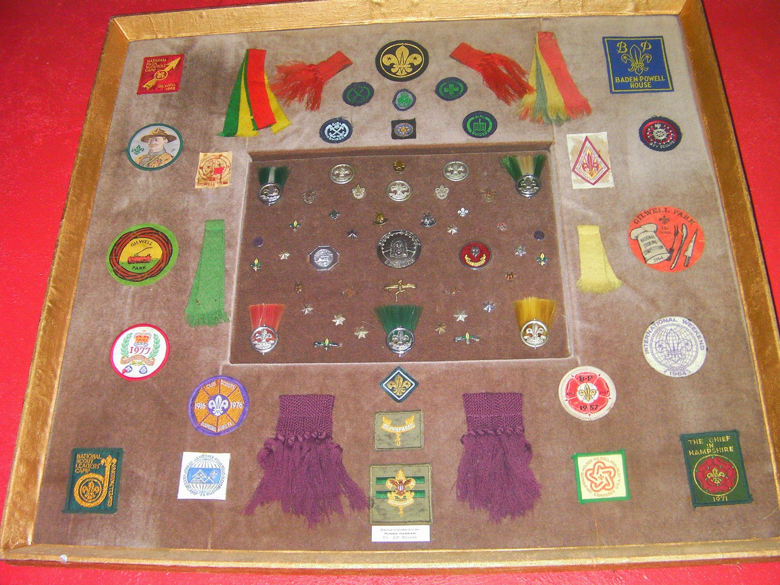 hilsea scout hut historic scout badges