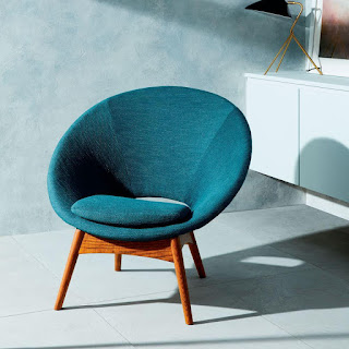 Maximize comfort in teal chair