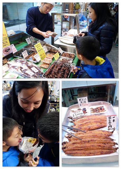 Kyoto travel with kids Nishiki Market