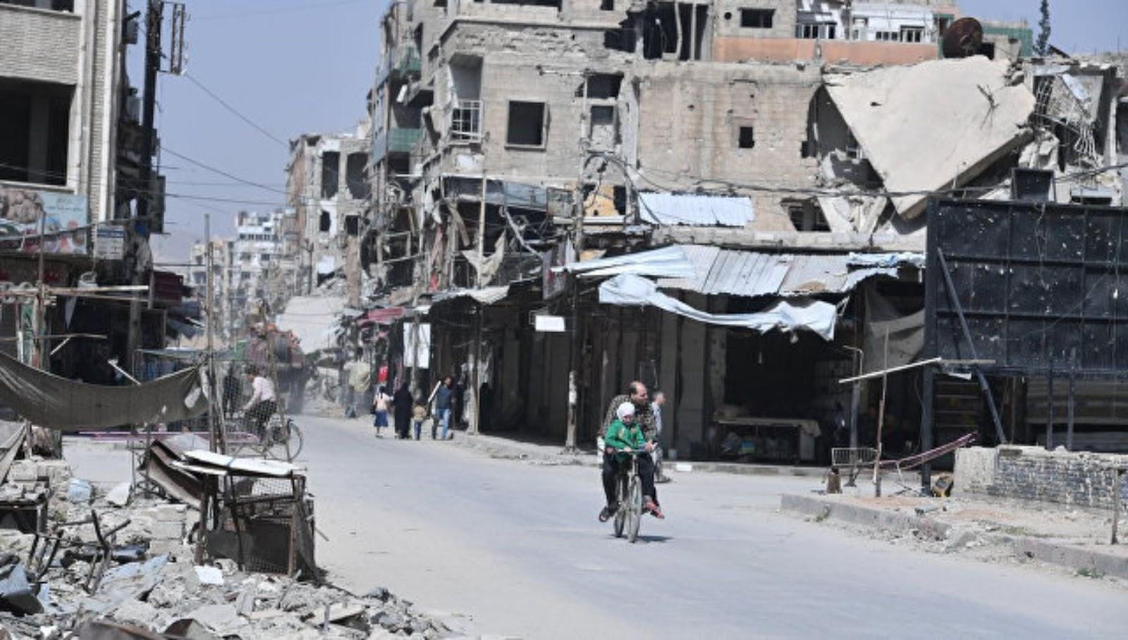 Suriah tidak akan menerima satu dolar pun dari Amerika Serikat untuk rekonstruksi sampai Iran meninggalkan negara itu