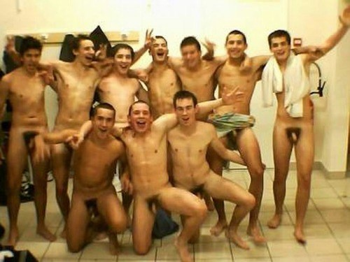 Where shaved nude men locker room excellent