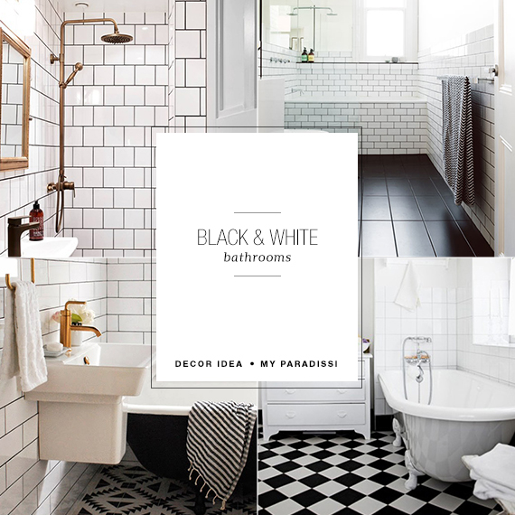White Bathroom Decor Ideas Pictures Tips From Hgtv: Black And White Bathrooms