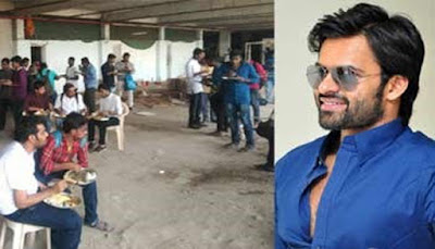 Mega Hero lunch for fans instead of shooting