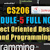 Module 5 Note-CS206 [JAVA] Object Oriented Design and Programming