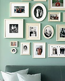 do it yourself divas: DIY: Painting Picture Frames