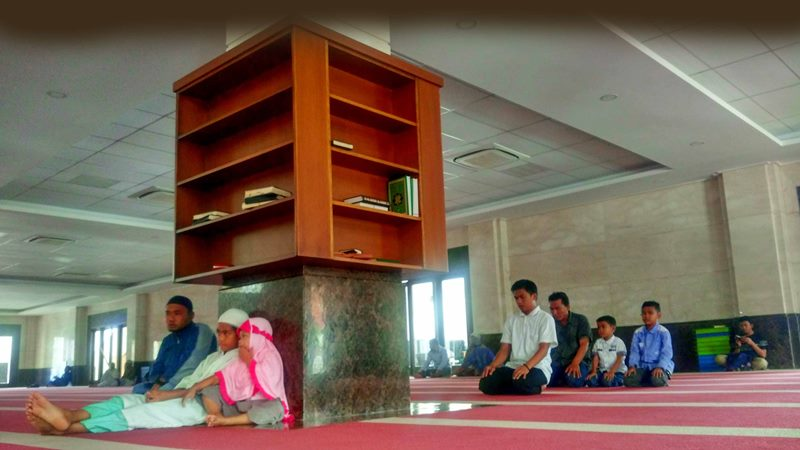 Leyeh-leyeh di Abu Ad Darda, Masjid Tanpa Kotak Amal