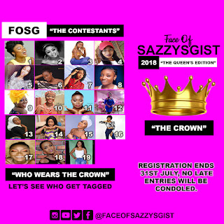 FACEOFSAZZYSGIST 2018 || THE QUEENS EDITION