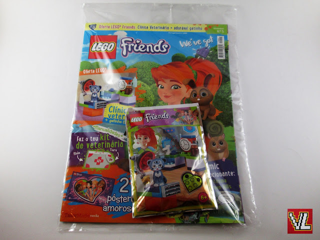 Revista LEGO Friends #05 - novembro 2018