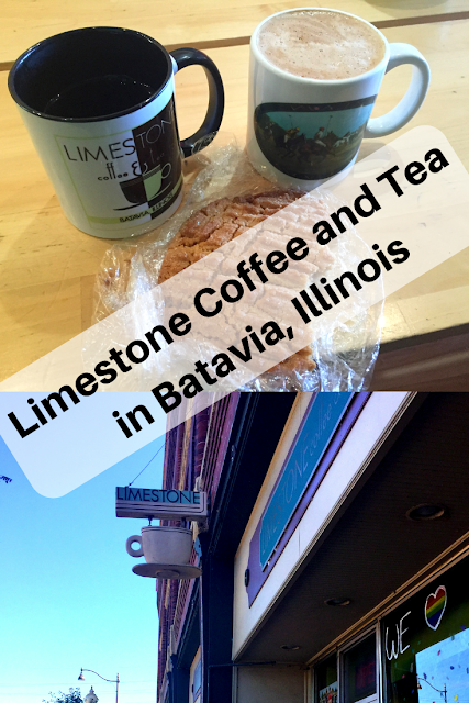 Quick Stop at Limestone Coffee and Tea in Batavia, Illinois