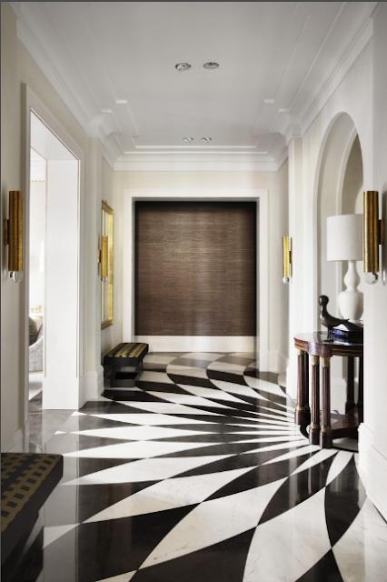 Pablo Paniagua entryway Design via Belle Vivir