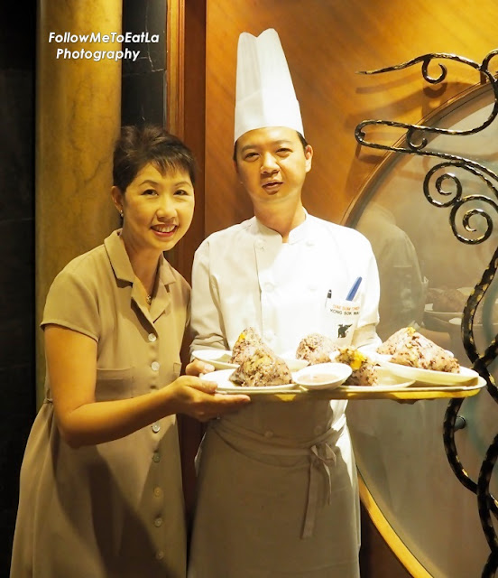With Dim Sum Chef Kong & His Tasty Glutinous Rice Dumplings