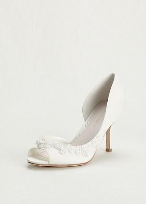 Zapatos blancos para jovencitas