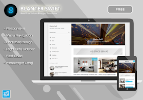 Blanter Swift Responsive Fast Load Blogger Template