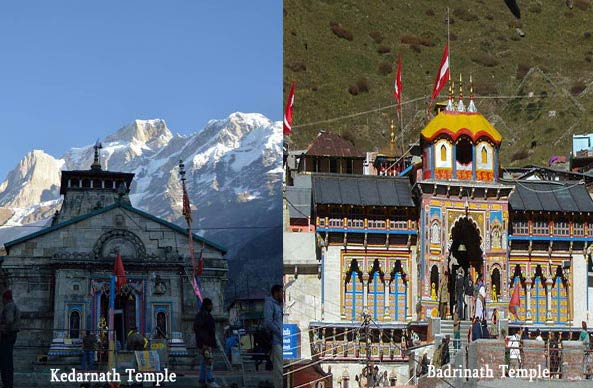 Kedarnath and Badrinath Temple, Uttarakhand