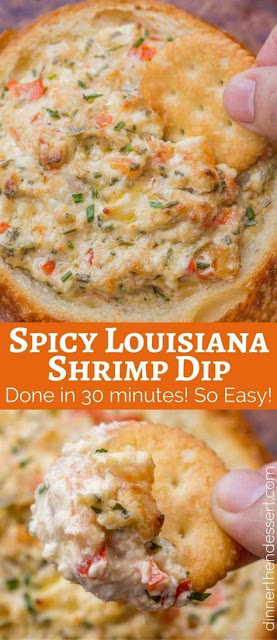 Spicy Louisiana Shrimp Dip