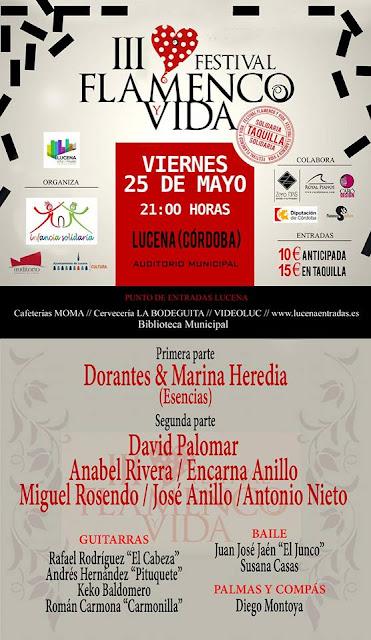 III Festival Flamenco y Vida en Lucena