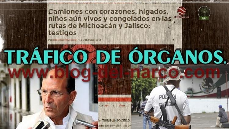Tráfico de órganos desde Arteaga Michoacán contado por un Ex-Autodefensa, Ex-Gober Fausto Vallejo tuvo donante Templario