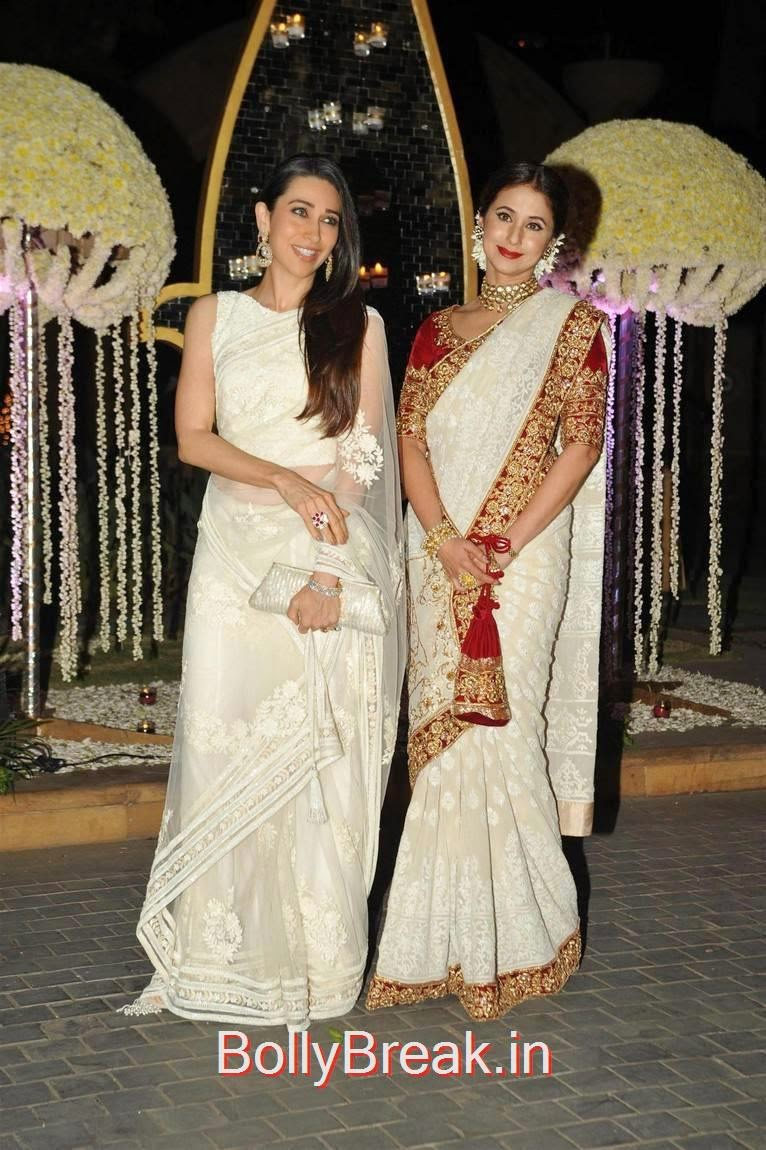 Stars At Riddhi Malhotra Wedding Reception, Karishma Kapoor, Urmila Matondkar, Kriti Sanon, Sophie Choudry At Riddhi Malhotra Wedding Reception