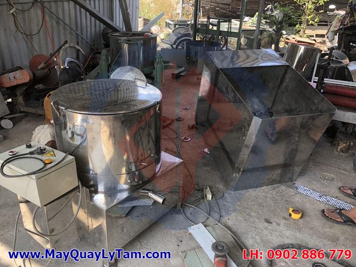 Các kiểu máy ly tâm muối ăn bằng inox 316, thiết kế theo yêu cầu kỹ thuật của khách hàng