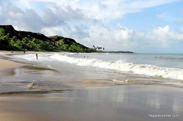 Praia do Coqueirinho, no Litoral Sul da Paraíba