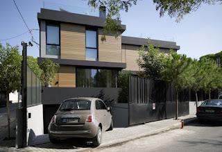 Kombinasi warna cat luar rumah minimalis