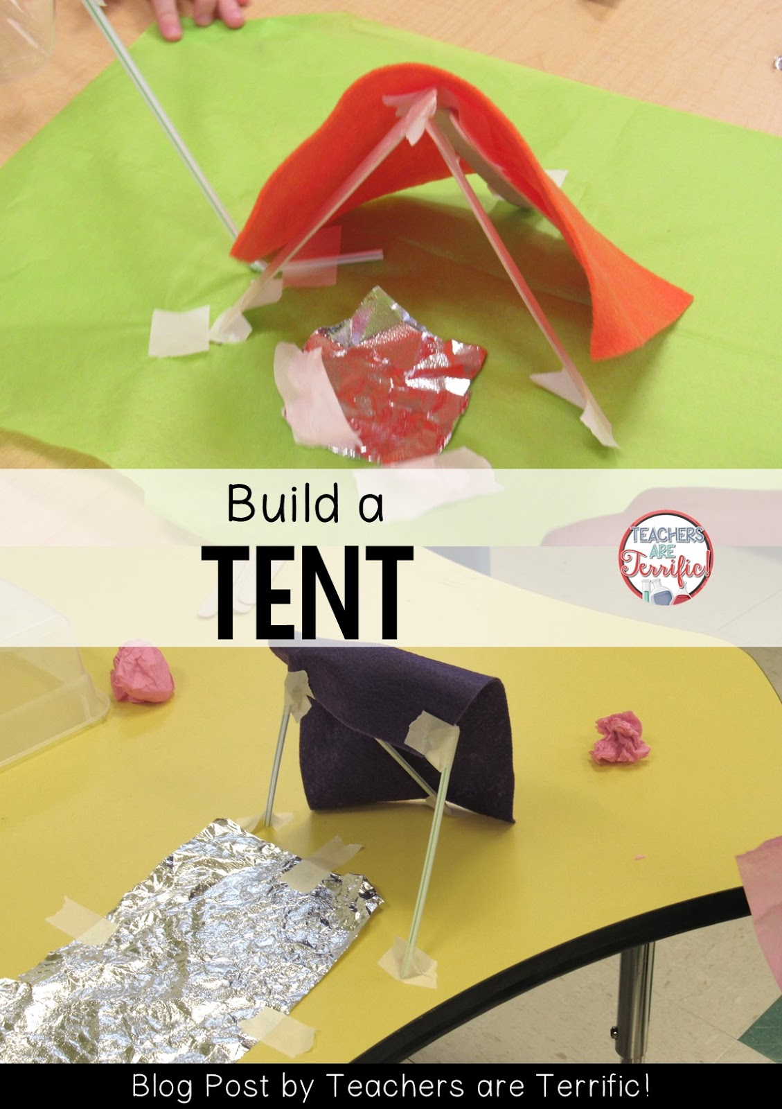 STEM Challenge Read \ Where the Wild Things Are\  and build a tent for  sc 1 st  Teachers Are Terrific! & A Breakthrough That Will Help You Plan for STEM - Teachers Are ...