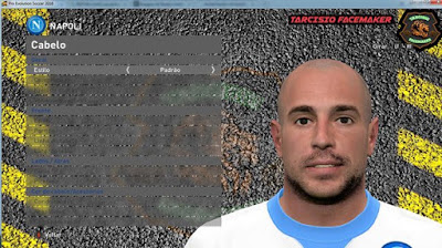 Pepe Reina - Napoli by Tarcisio Facemaker