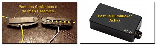 Pastillas Cerámicas y Pastillas Activas para Guitarras Heavy