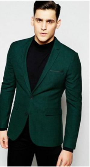 Yeşil blazer ceketin içine ne giyilir