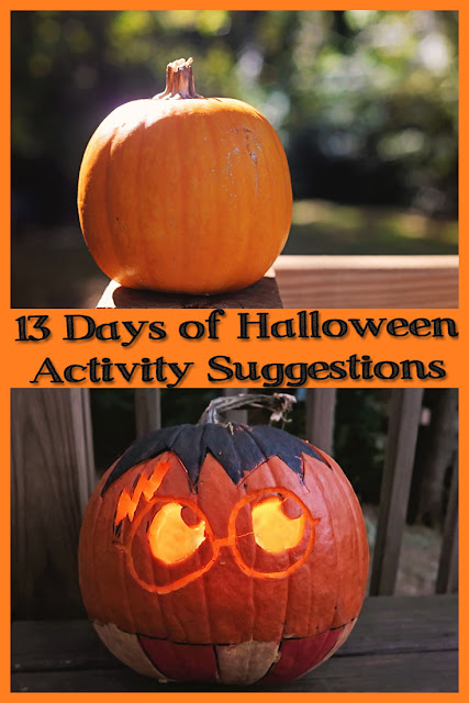 13 Days of Halloween Activity Suggestions