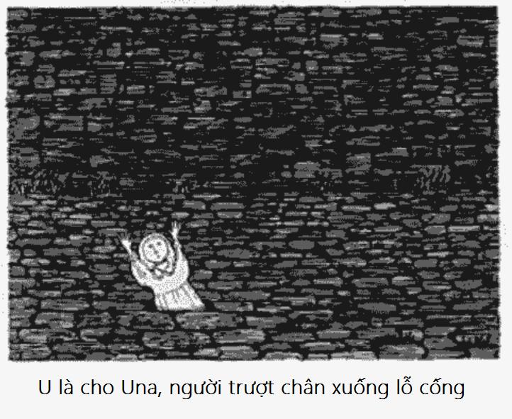U bang chu cai rung ron