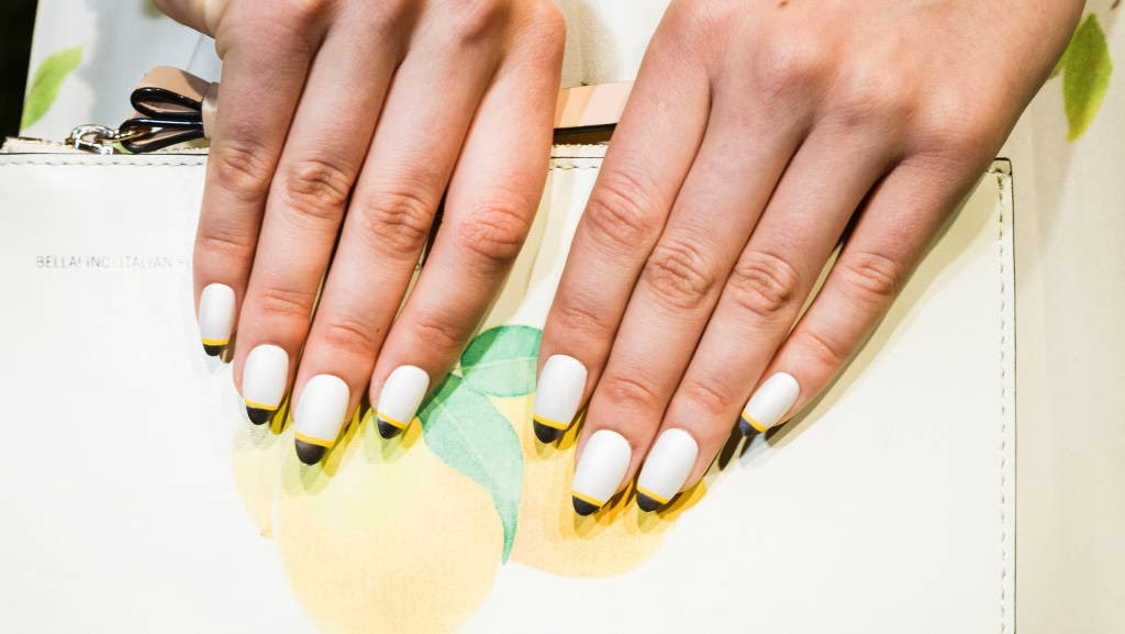 Check Out Bazaar S Top Spring Nails To Try Now Deborah Lippmann For Kate Spade