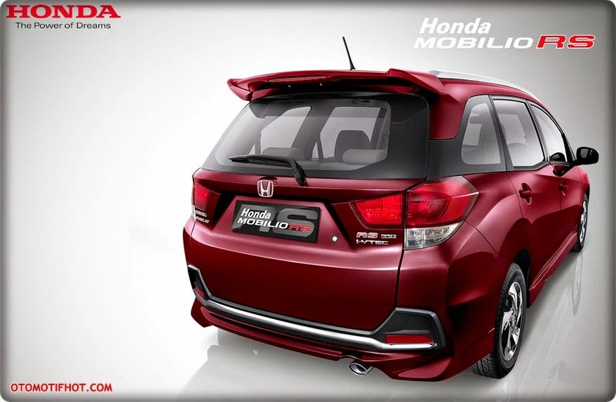 Spesifikasi dan Harga Honda Mobilio RS Terbaru 2016 OTR Jakarta