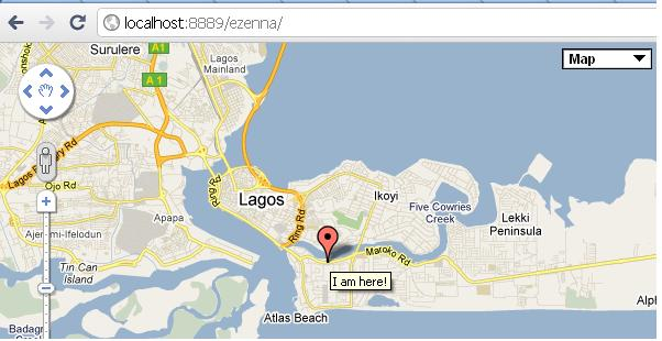 Enter the Google Map – GDG Lagos